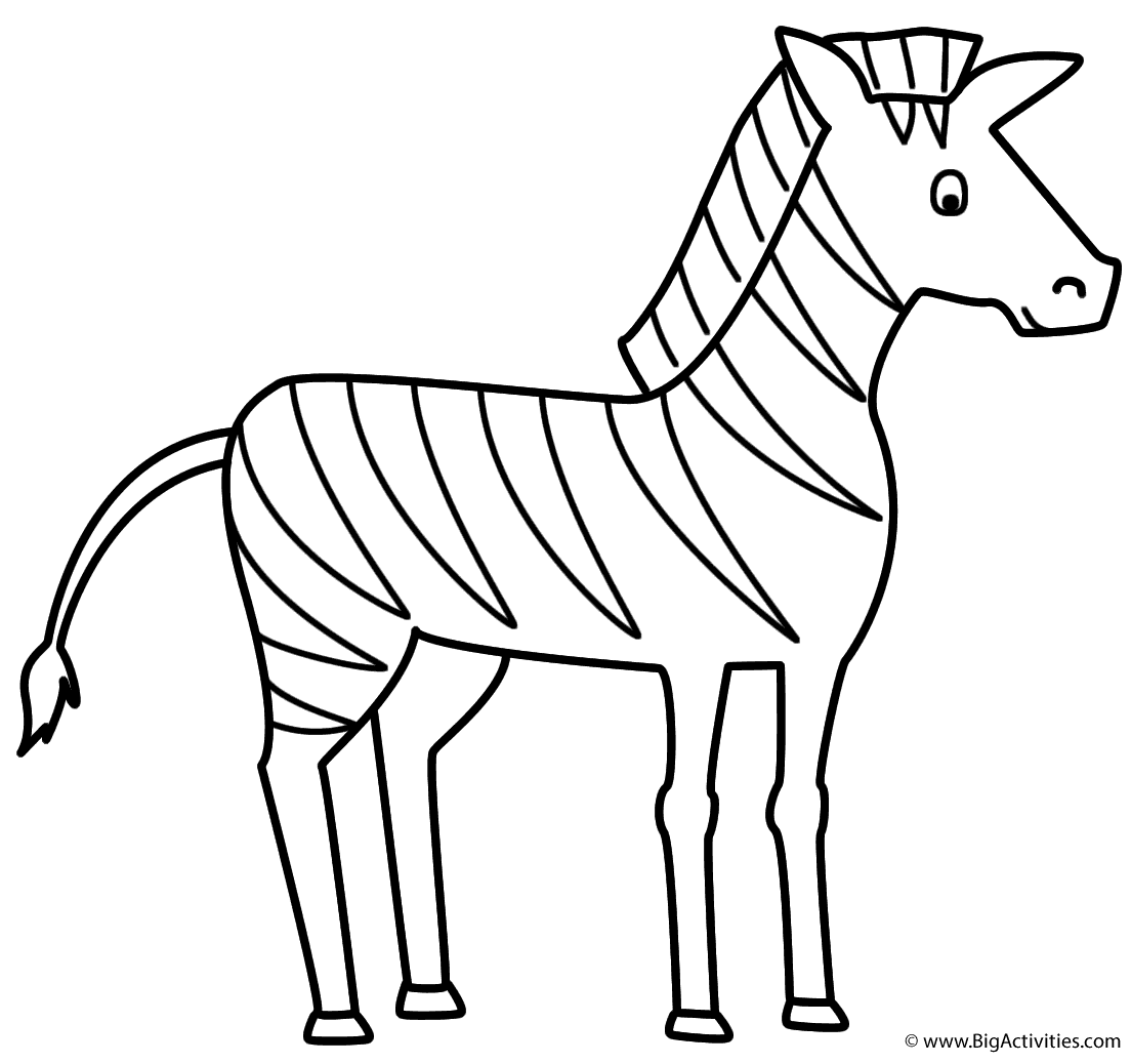 zebra color page zebra coloring pages free printable kids coloring pages page zebra color