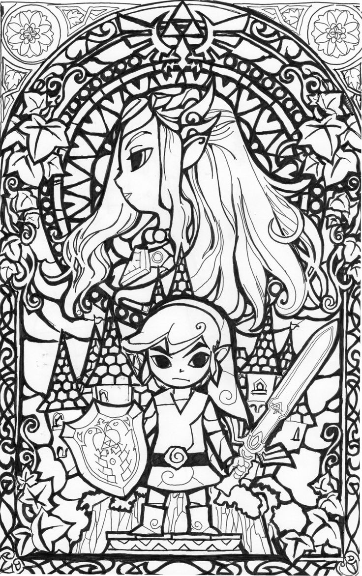 zelda coloring book zelda coloring pages to download and print for free zelda coloring book