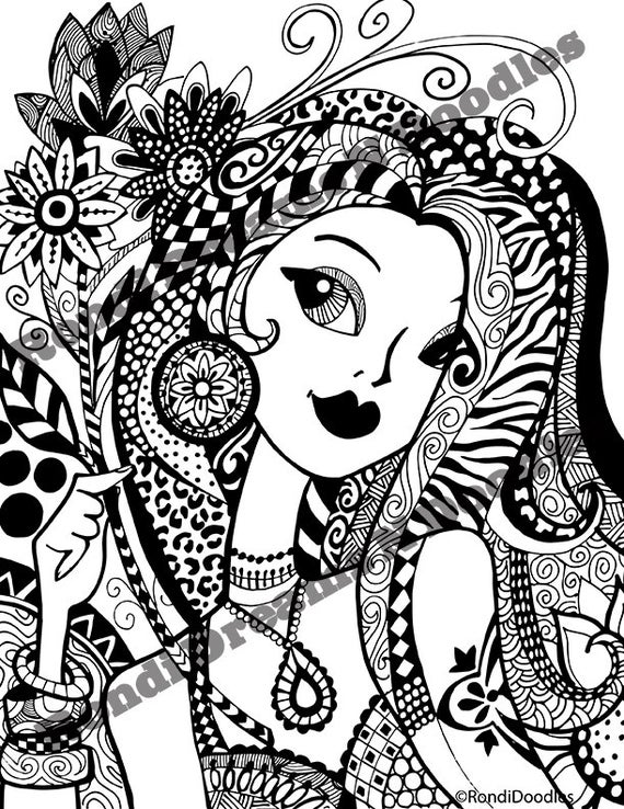 zendoodle printables flirty and floral zendoodle coloring page printables zendoodle