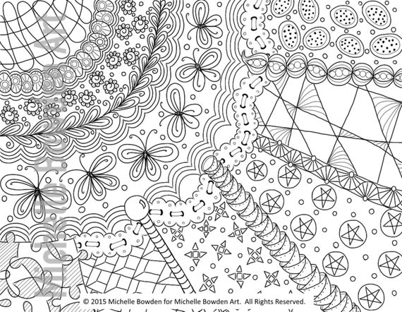 zendoodle printables items similar to coloring page printable sunrays zendoodle printables