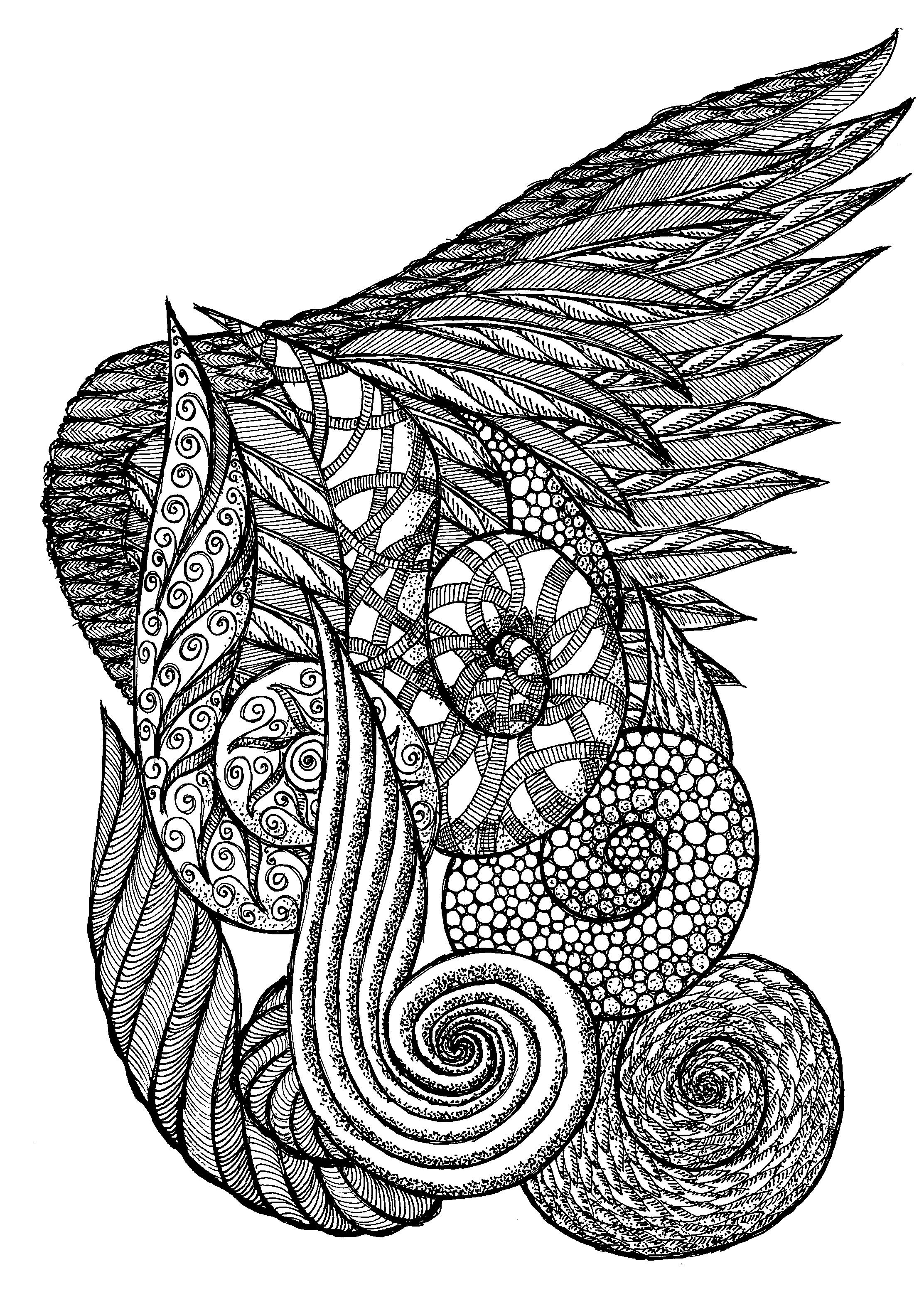zendoodle printables one of the first zentangle or zendoodle art i did with printables zendoodle