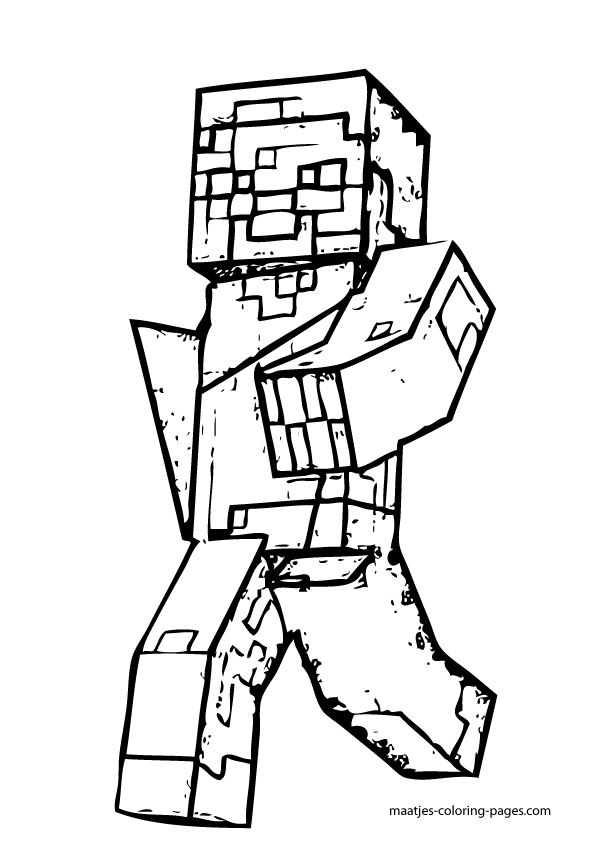 zombie pigman minecraft coloring pages minecraft zombie pigman coloring pages coloring home zombie coloring pages pigman minecraft