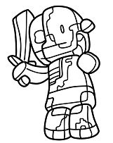 zombie pigman minecraft coloring pages zombie pigman from the nether coloring pages cartoons minecraft pages coloring zombie pigman