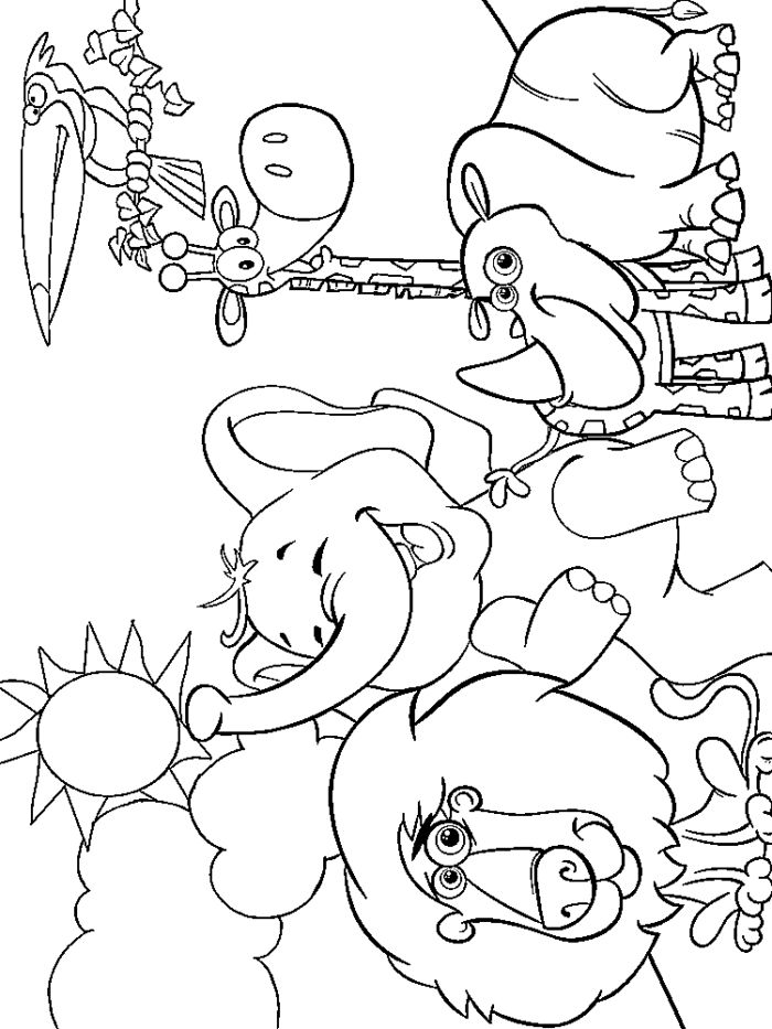 zoo animal coloring we love being moms a z zoo animal coloring pages coloring zoo animal