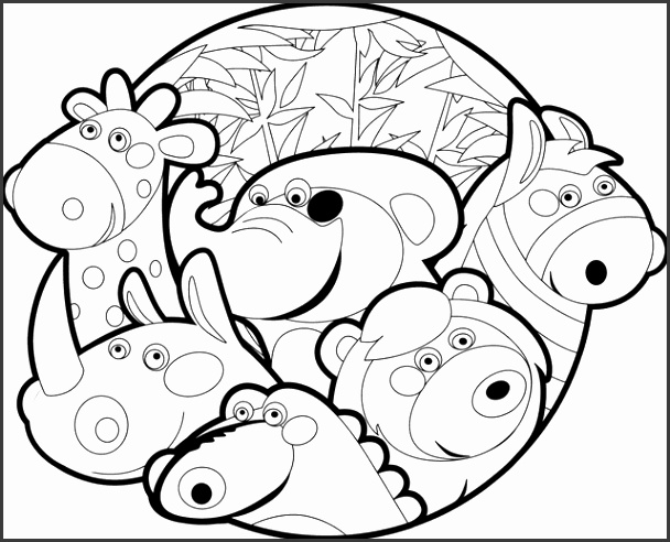zoo animal coloring zoo animal coloring pages for preschool at getcolorings coloring animal zoo