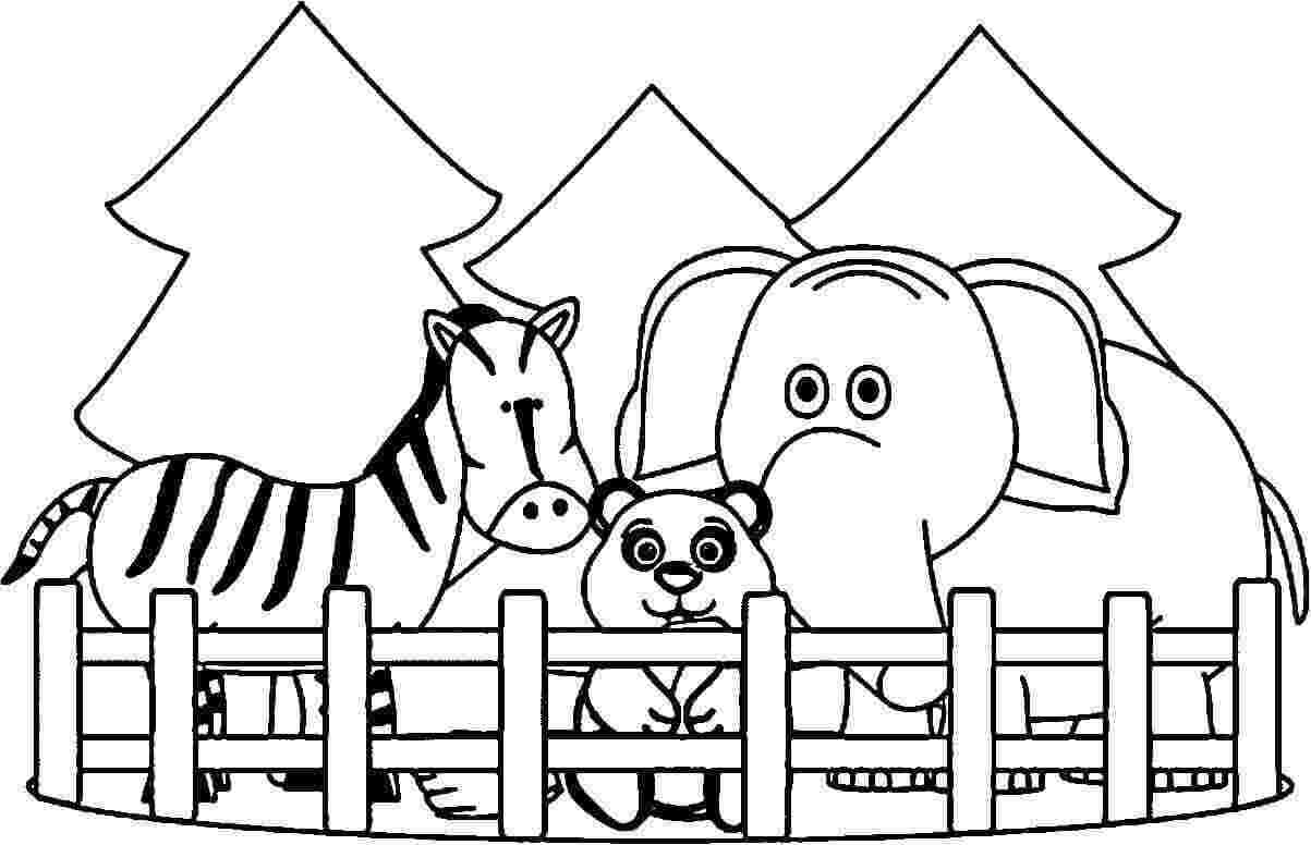 zoo animals coloring pictures cool zoo giraffe cartoon coloring page coloring pages pictures animals zoo coloring