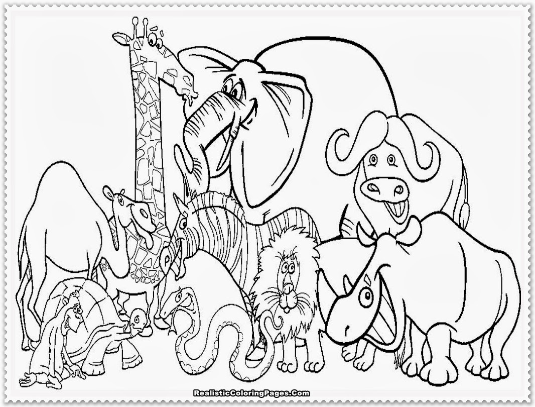 zoo animals coloring pictures get this online zoo coloring pages for kids 51254 animals pictures coloring zoo