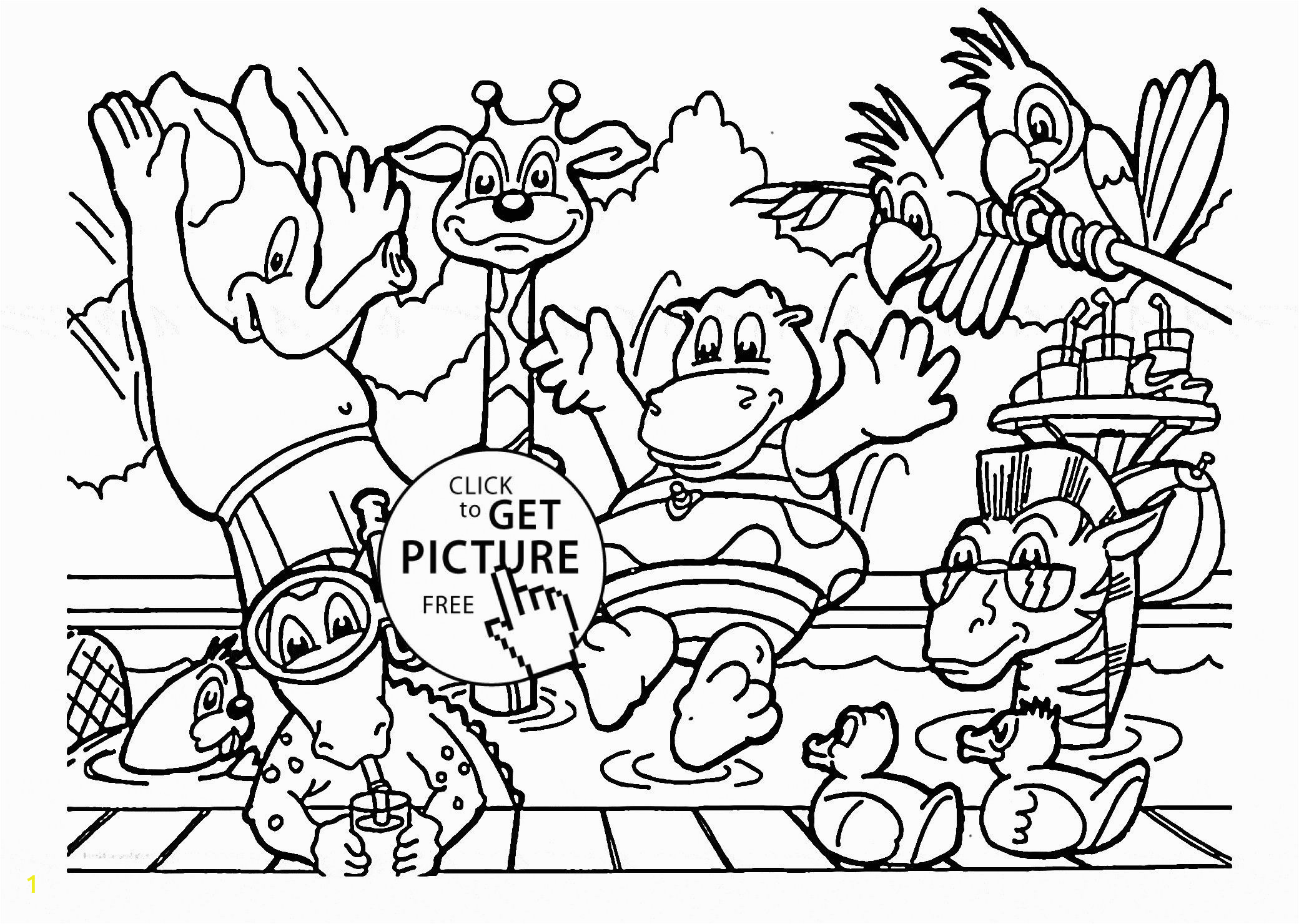 zoo coloring pictures for preschool 20 free printable zoo coloring pages everfreecoloringcom pictures for coloring zoo preschool