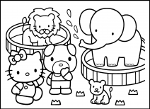 zoo coloring pictures for preschool coloring sheet zoo animals in 2020 with images zoo preschool zoo coloring for pictures