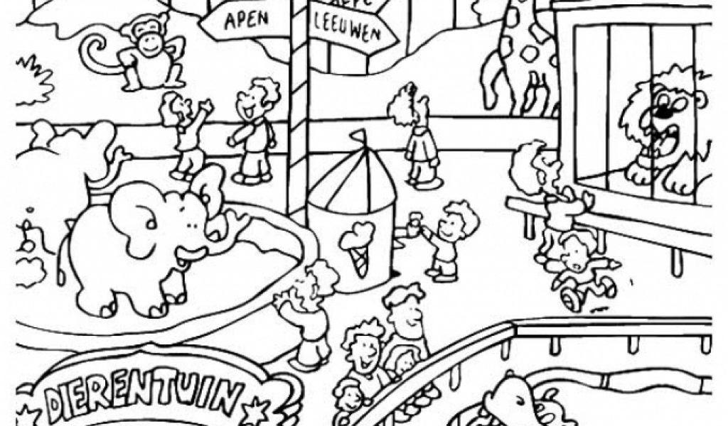 zoo coloring pictures for preschool get this printable zoo coloring pages for kids 5176 zoo coloring for preschool pictures