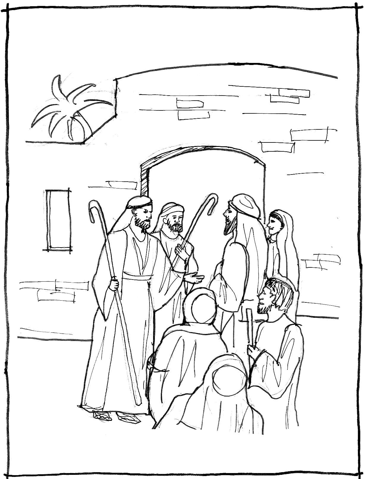 1 john 4 19 coloring page fearfully and wonderfully made we fight the good fight page 1 coloring john 4 19