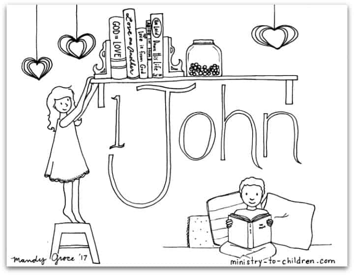 1 john 4 19 coloring page quot1 johnquot bible book coloring page ministry to children 4 coloring 19 1 john page