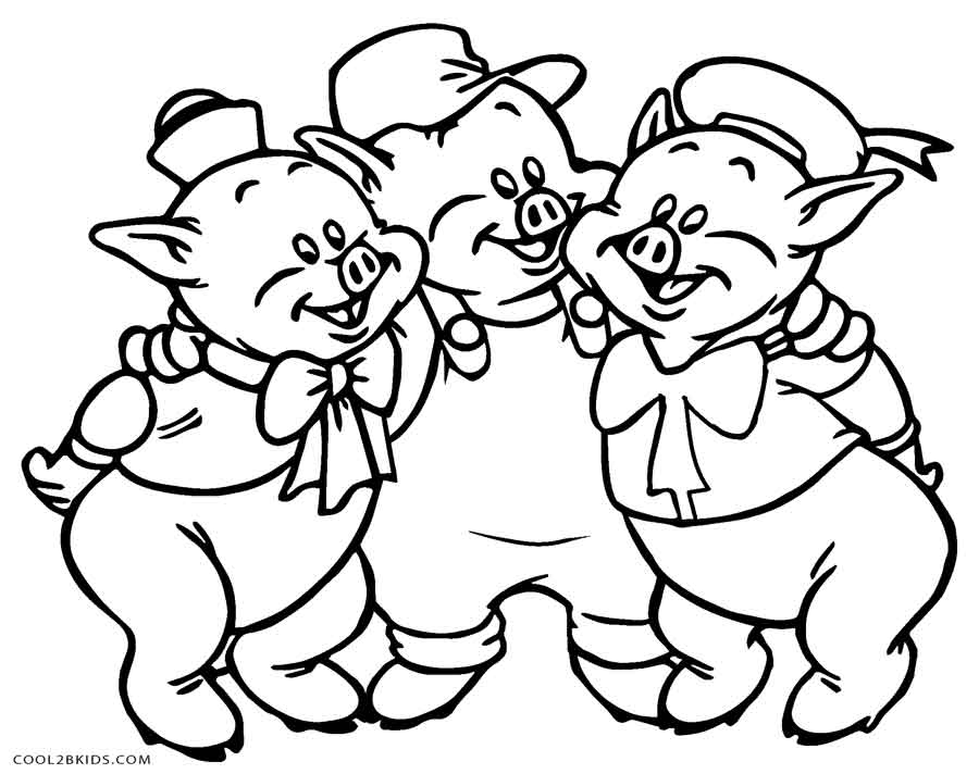 3 little pigs coloring page three little pigs coloring pages for childrens printable coloring pigs 3 little page