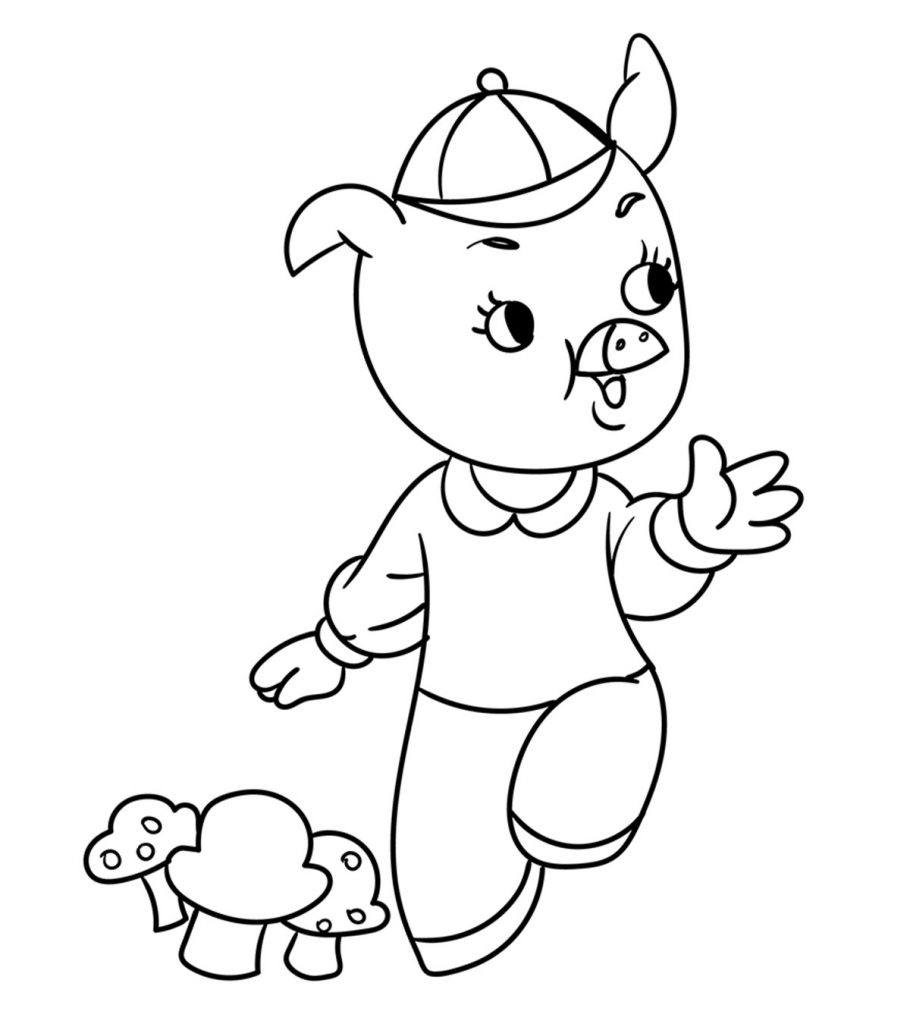 3 little pigs coloring page three little pigs coloring pages for preschool practice coloring little 3 pigs page