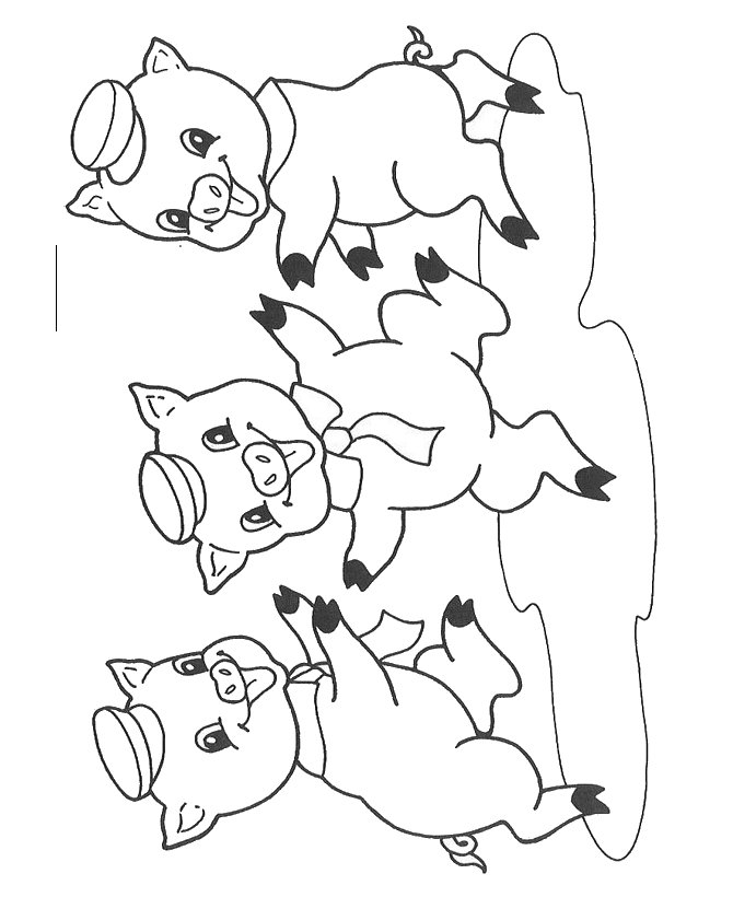 3 little pigs coloring page three little pigs houses coloring pages at getcolorings page 3 little pigs coloring