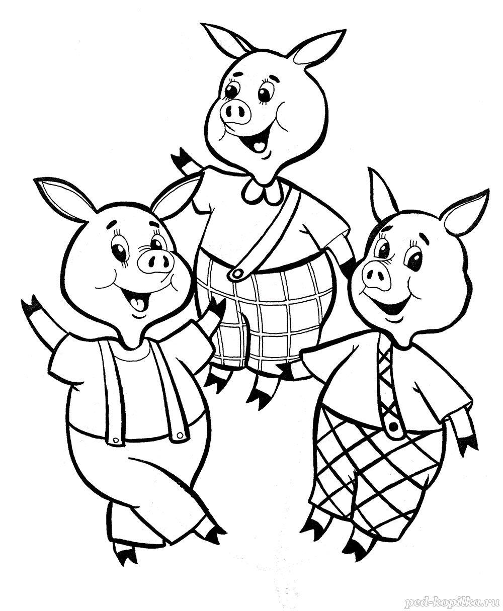 3 little pigs coloring page three little pigs wolf running coloring page tim39s page pigs coloring little 3