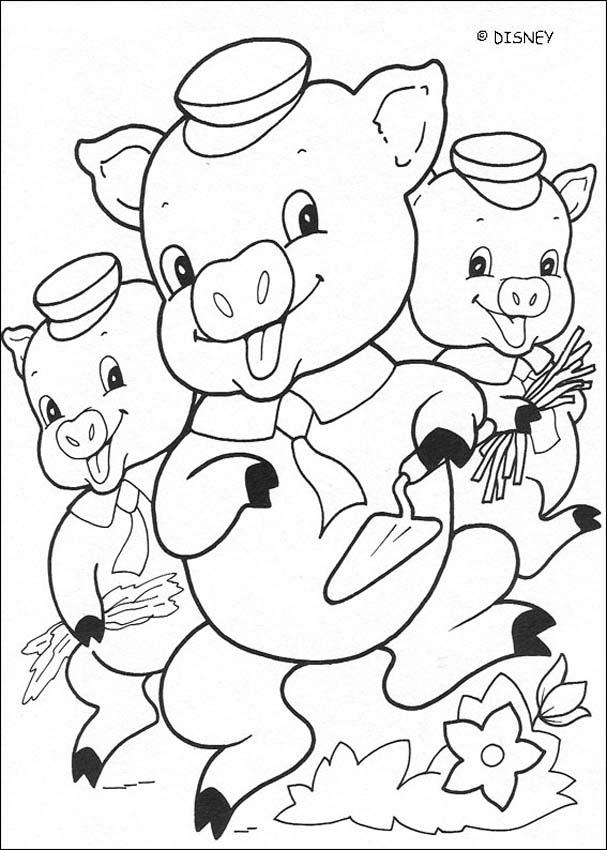 3 little pigs coloring page top 10 free printable three little pigs coloring pages online page little 3 coloring pigs