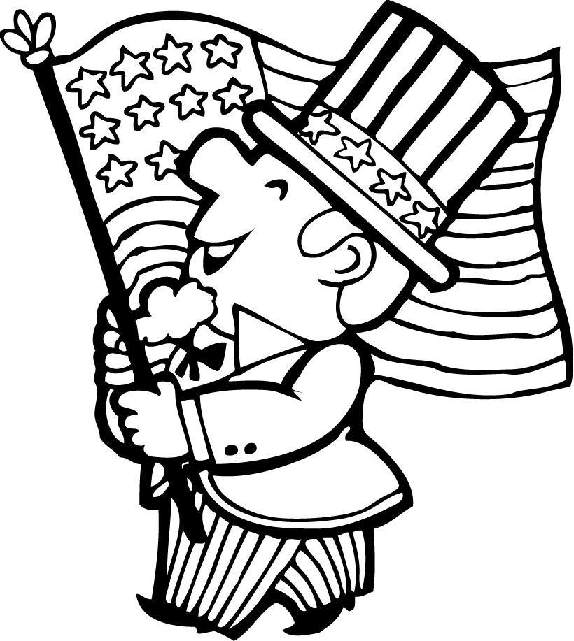 4 of july coloring sheets 4th of july doodle coloring page free printable coloring coloring july of sheets 4