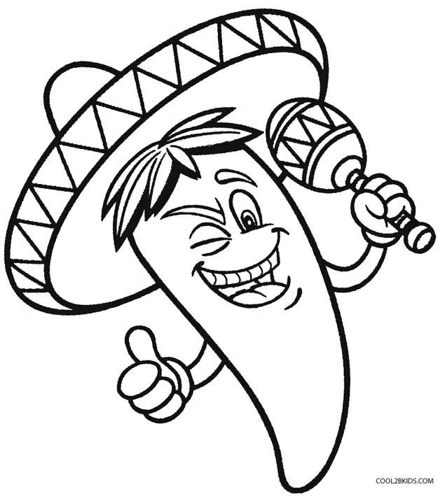 5 de mayo coloring pages 17 best images about preschool cinco de mayo on 5 de pages mayo coloring