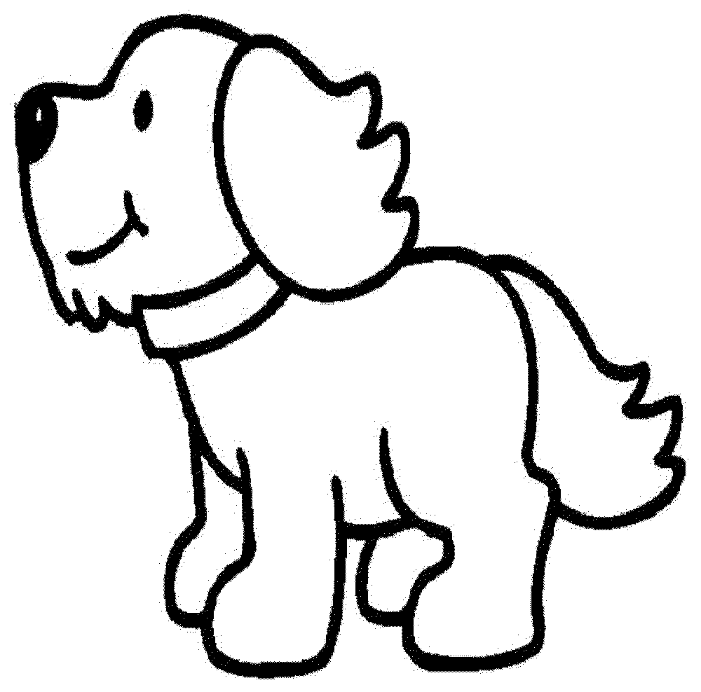 a coloring page of a dog dog my coloring land coloring dog a a page of