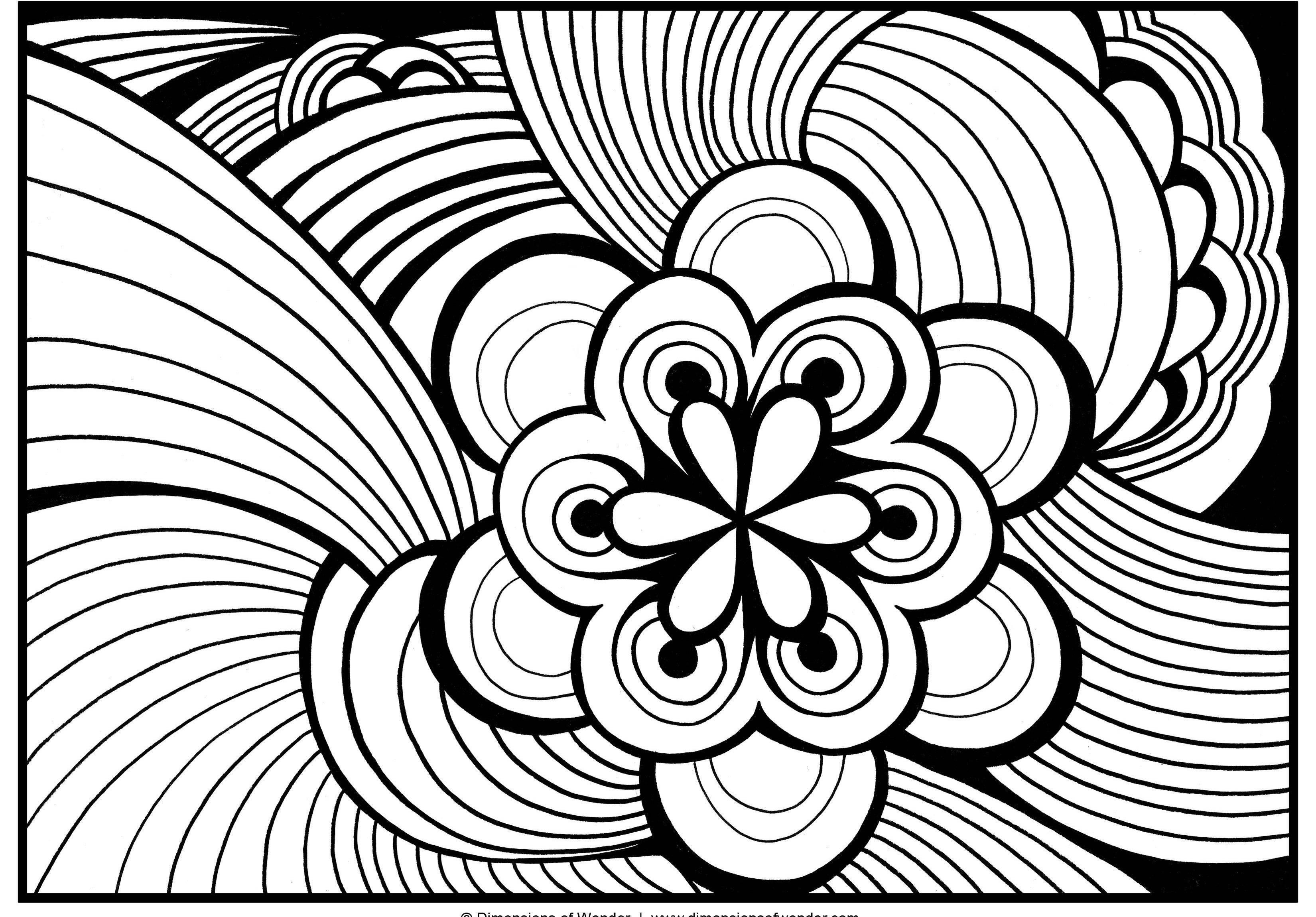 abstract colouring in abstract cat printable coloring page coloring home abstract colouring in
