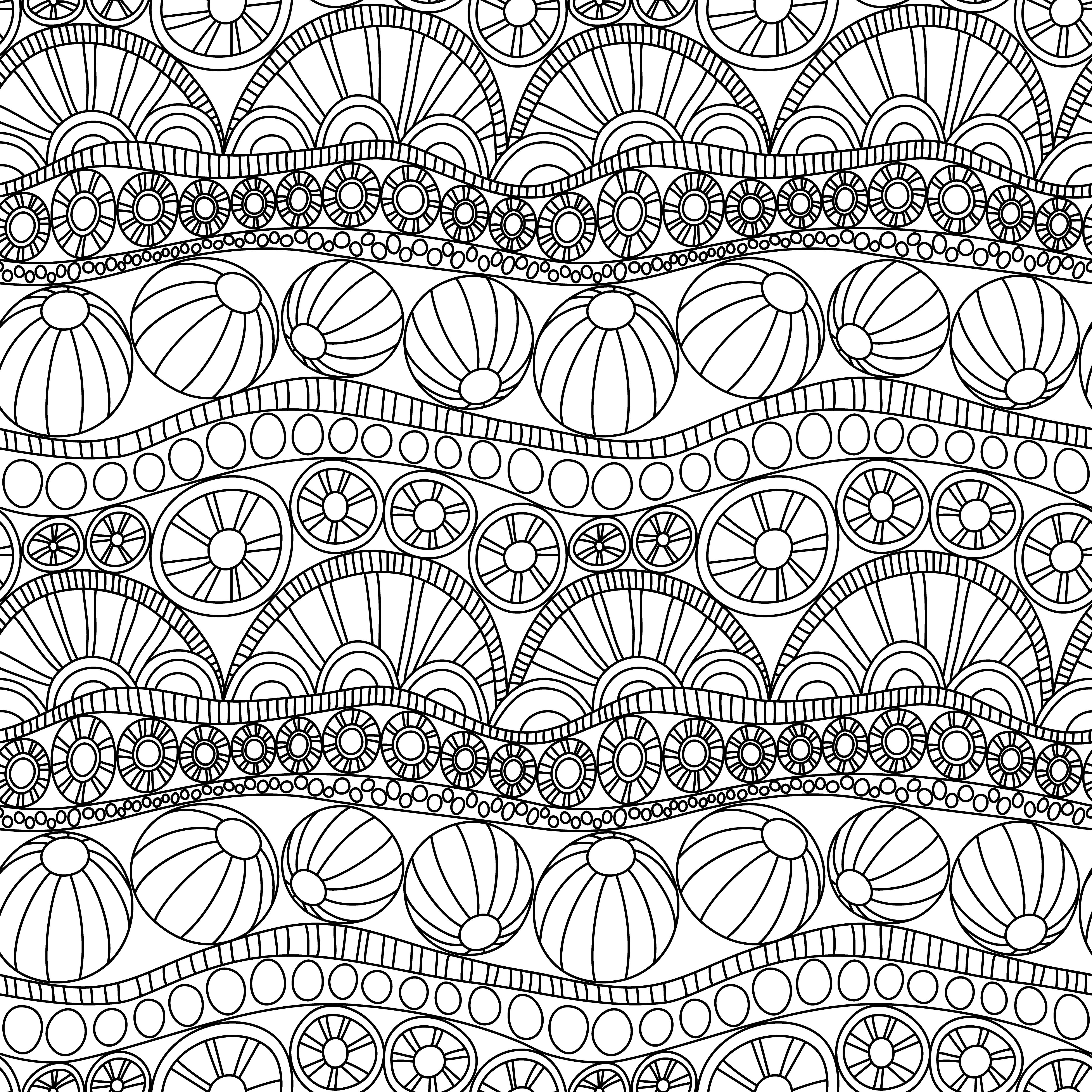 abstract colouring in doodle abstract seamless ornament coloring page doodle colouring in abstract