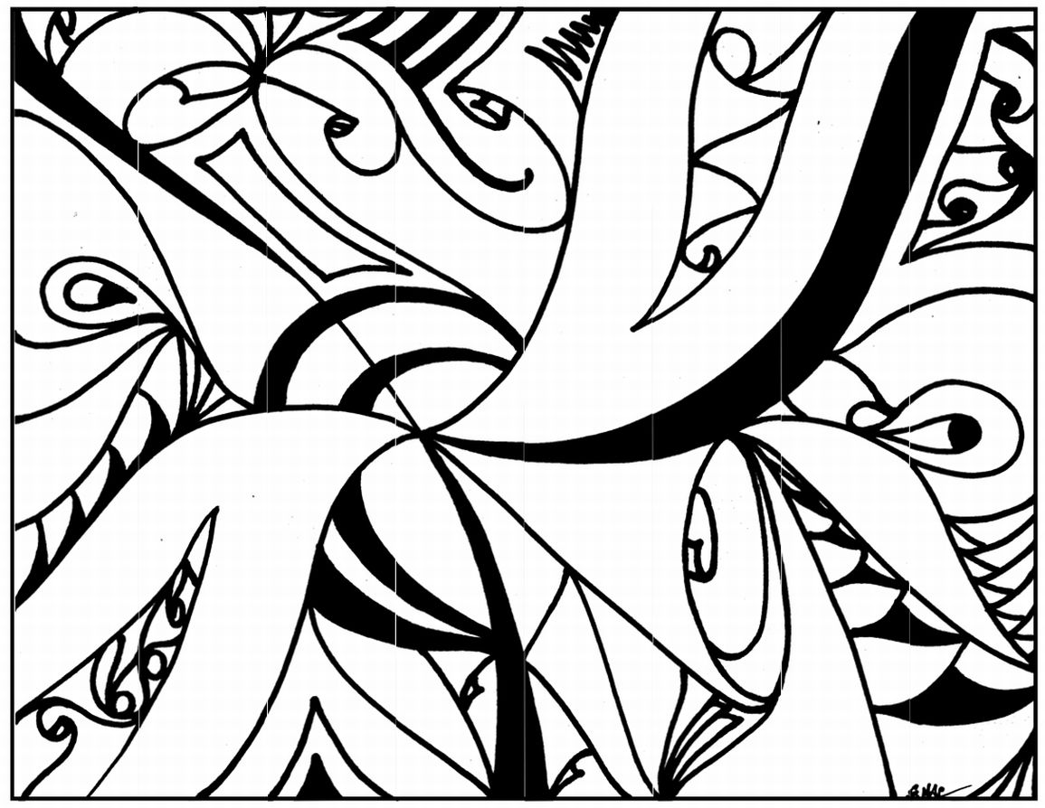 abstract colouring in easy abstract drawing at getdrawings free download colouring abstract in