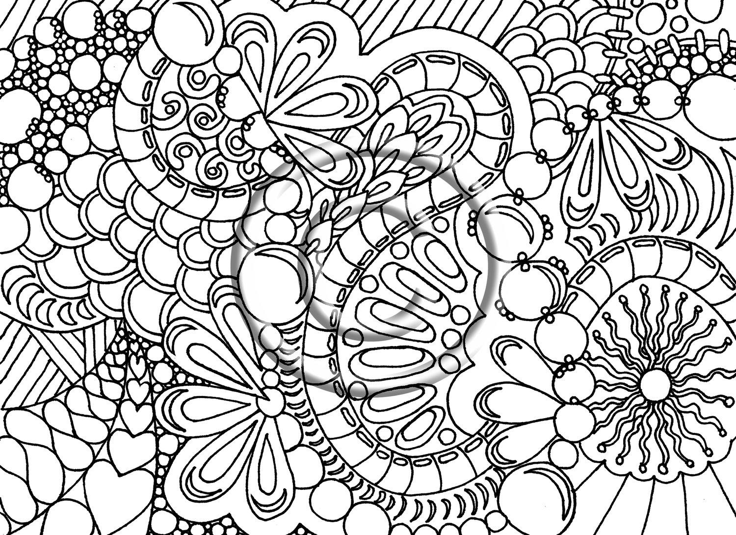 abstract colouring in free printable abstract coloring pages for kids in colouring abstract