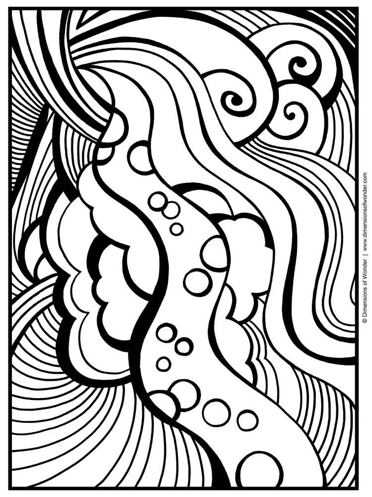 abstract colouring in printable abstract pattern adult coloring pages 01 colouring in abstract