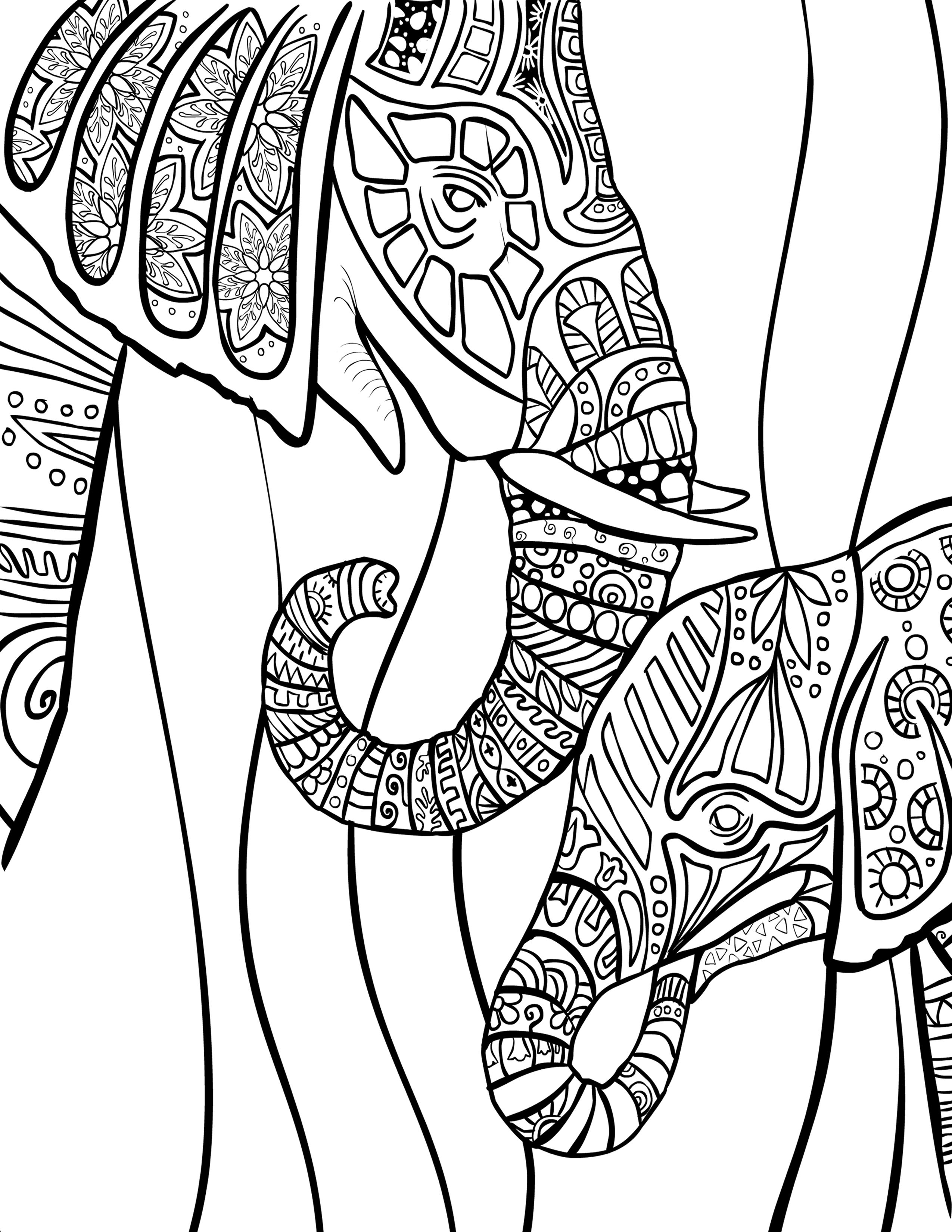 african elephant coloring pages elephant african coloring page african pages coloring elephant