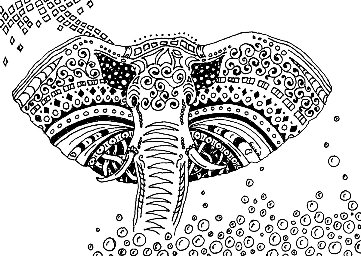 african elephant coloring pages free printable elephant coloring pages for kids elephant coloring pages african