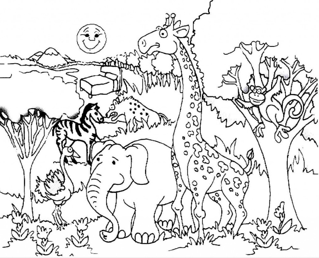 animal habitat coloring pages 80 coloring pages of wetland animals grassland animal pages habitat coloring