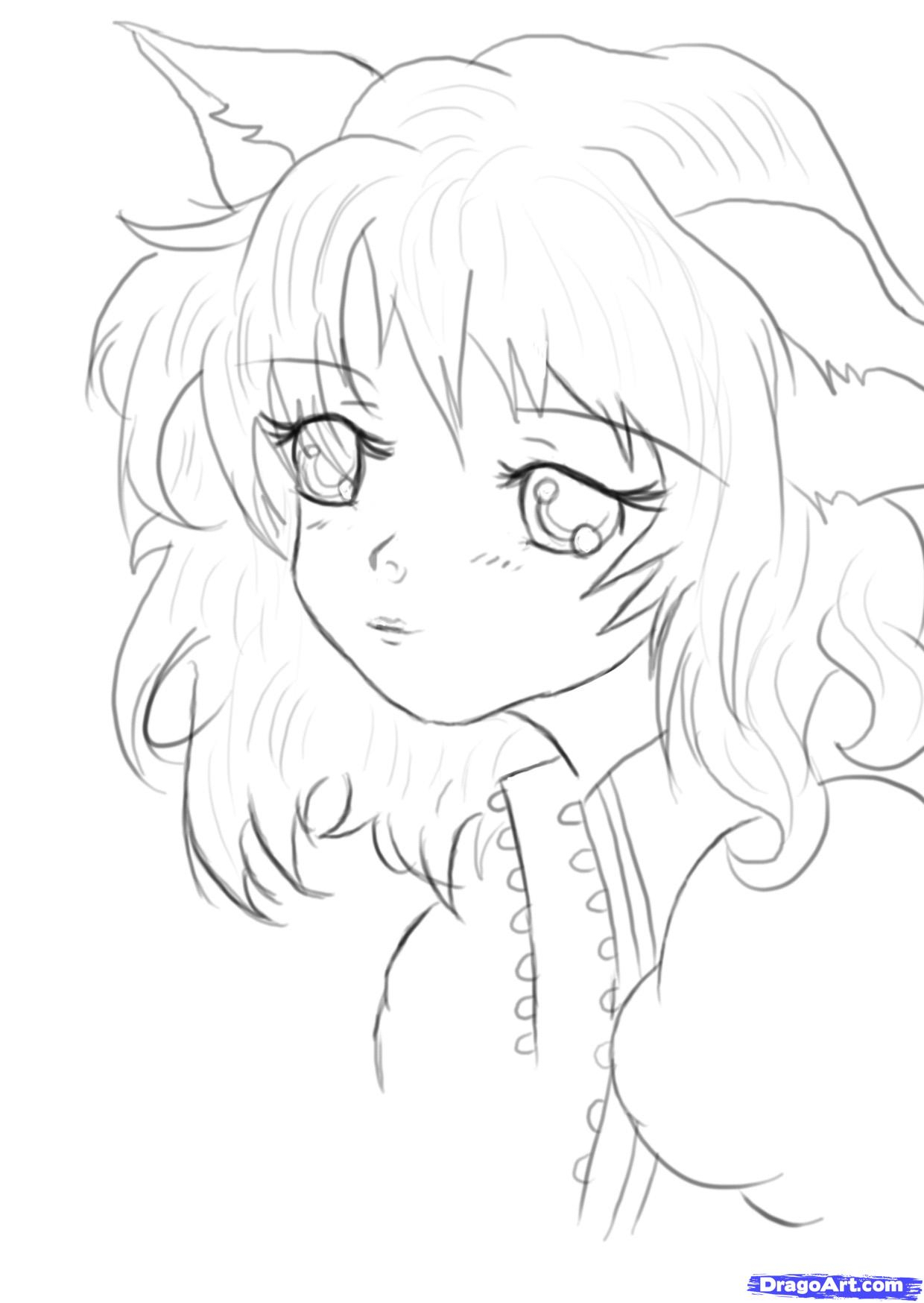 anime girl easy to draw anime girl drawing easy at getdrawings free download draw anime girl easy to