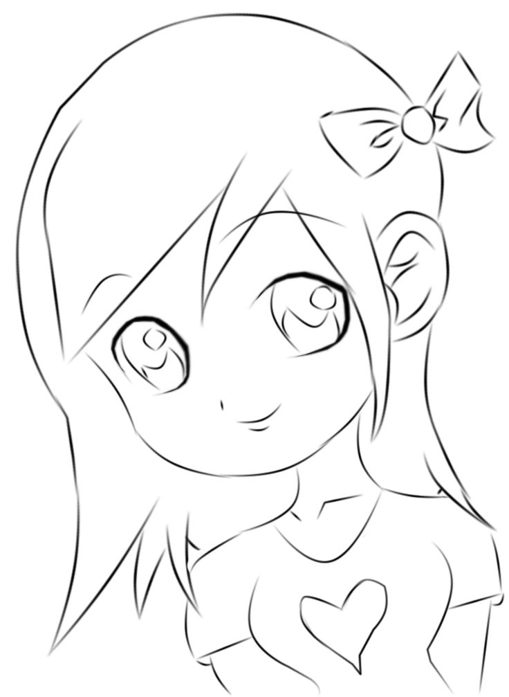 anime girl easy to draw anime girl drawing easy at getdrawings free download to easy anime girl draw
