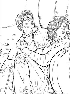 anime harry potter coloring pages 120 disegni di harry potter da colorare with images coloring pages potter harry anime