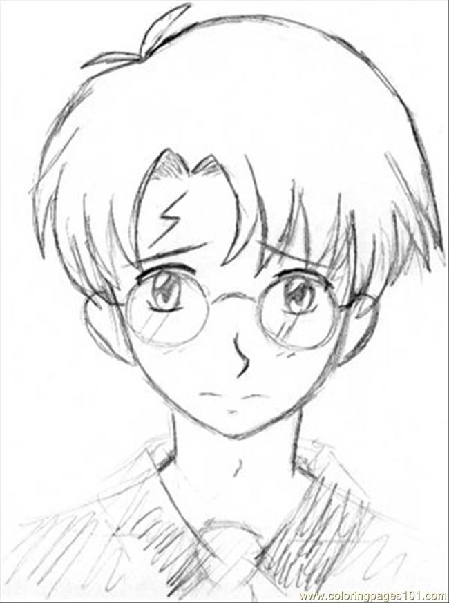 anime harry potter coloring pages harry potter color page harry potter coloring pages harry anime coloring potter pages