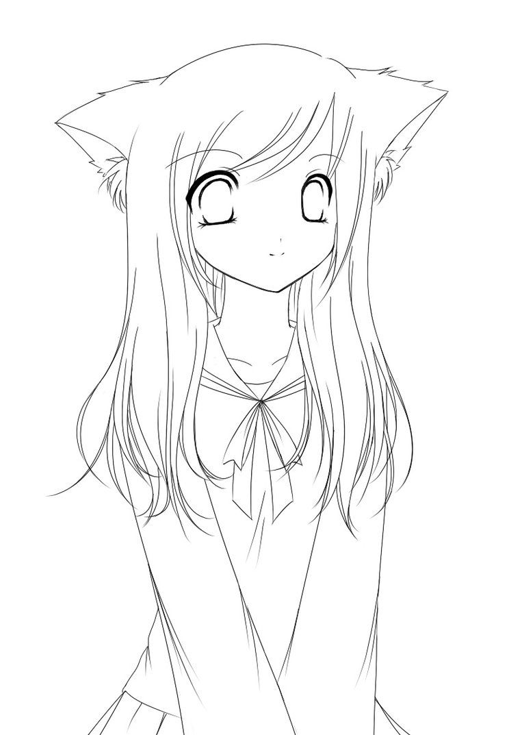 anime little girl coloring pages cute girls coloring pages coloring home girl anime coloring little pages