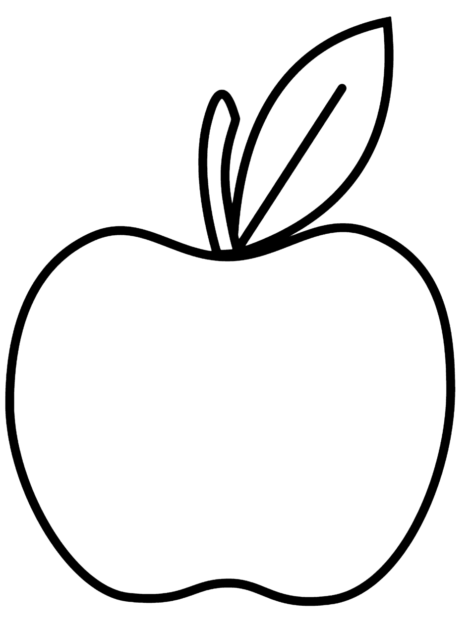 apple to color apple coloring pages for kids at getdrawings free download color apple to