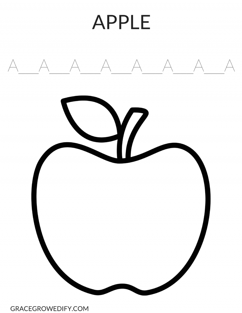 apple to color apple coloring pages to print color apple to