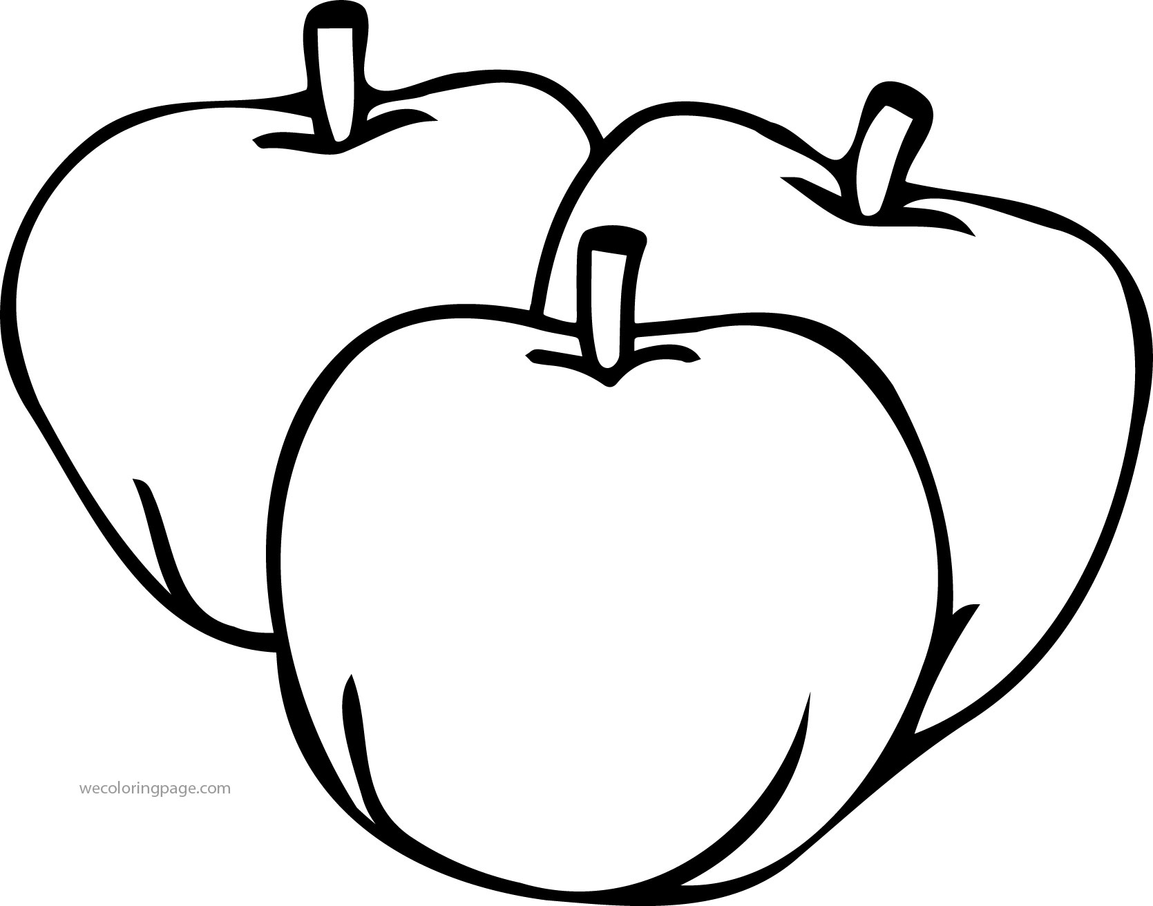 apple to color free printable apple coloring pages for kids color apple to