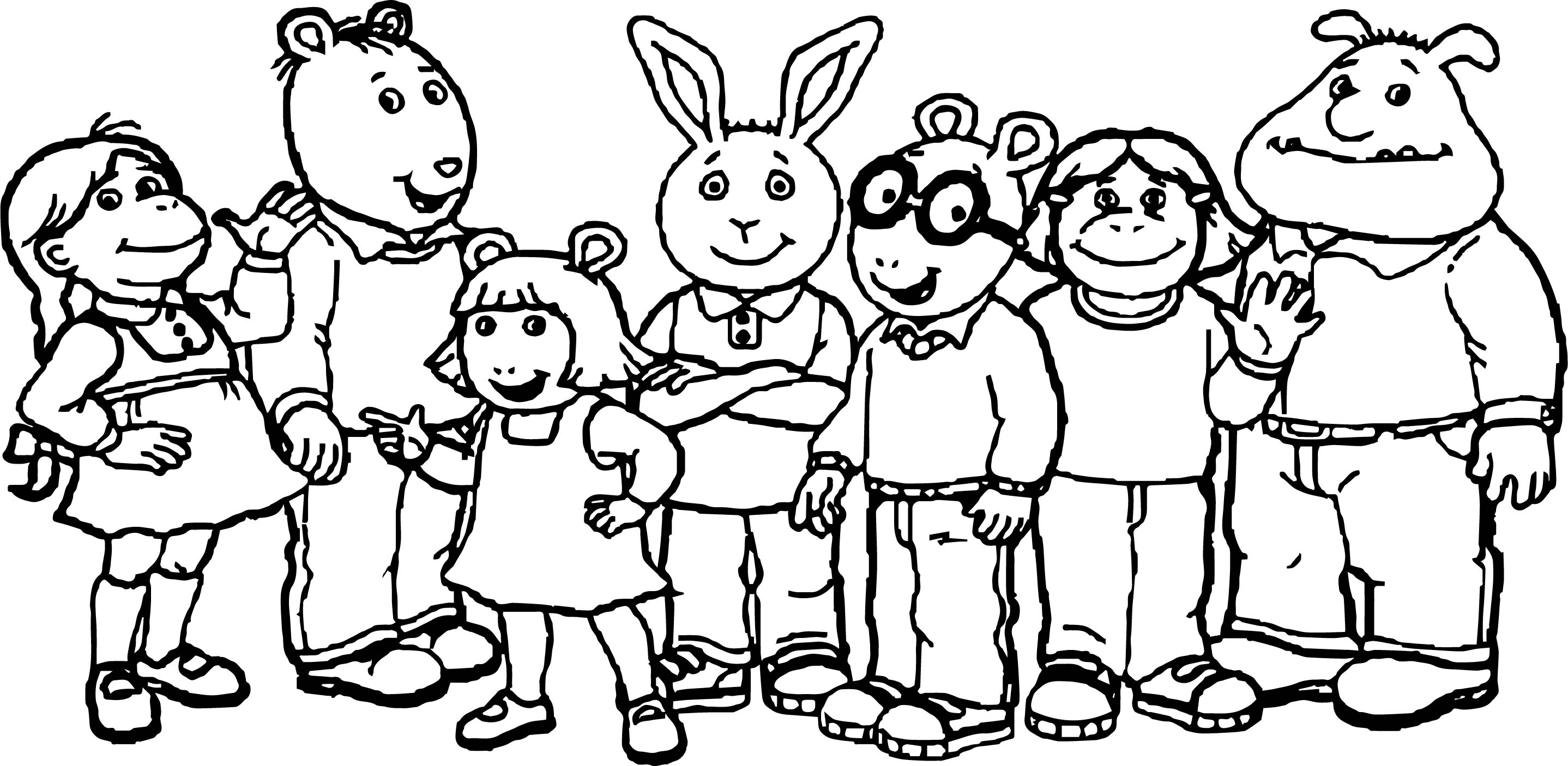 arthur coloring pages arthur coloring pages printable kids activity sheet free coloring arthur pages