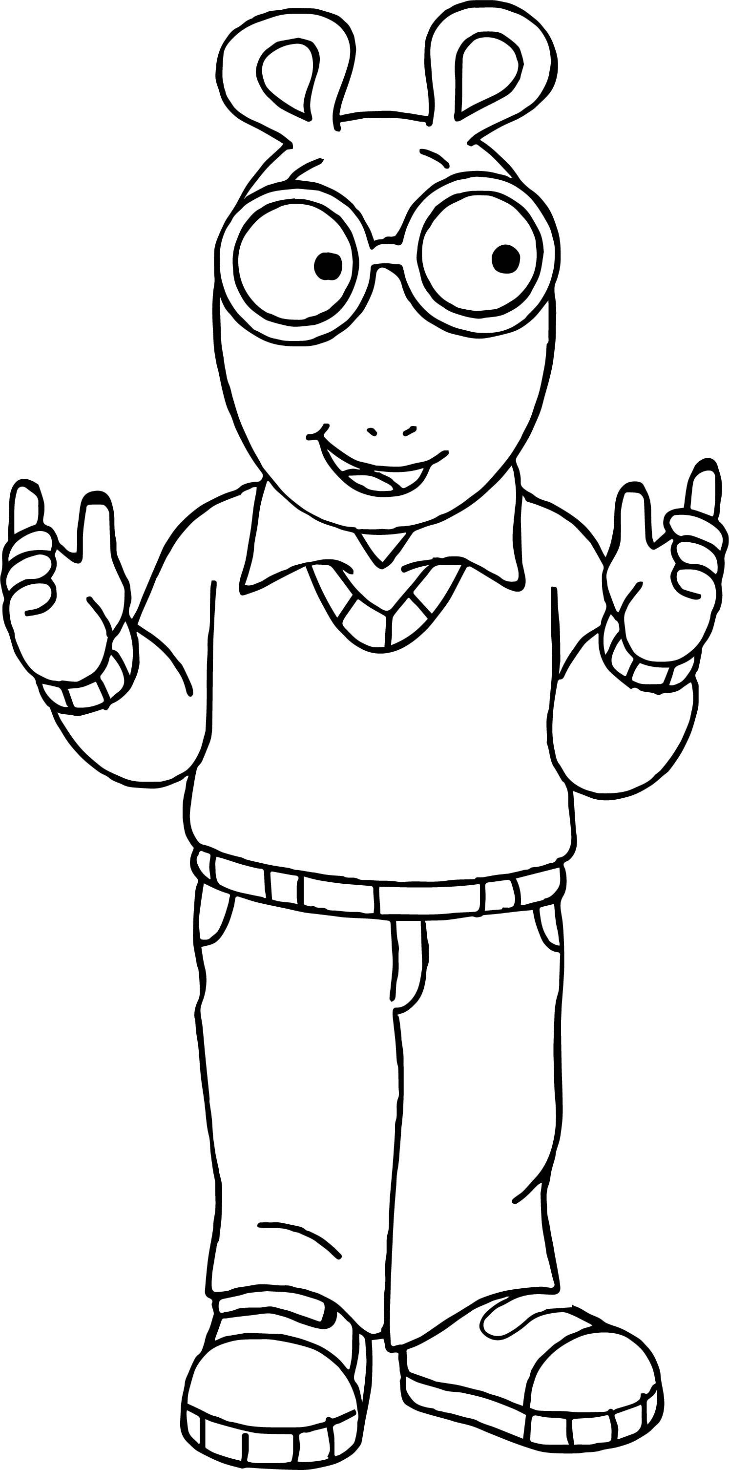 arthur coloring pages arthur coloring pages to download and print for free arthur coloring pages