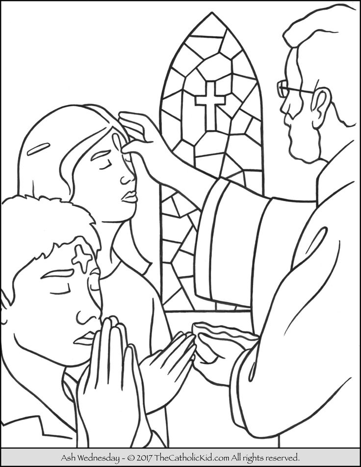 ash wednesday coloring pages ash wednesday coloring page coloring home ash pages coloring wednesday