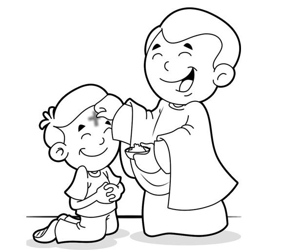 ash wednesday coloring pages ash wednesday coloring page coloring home pages ash wednesday coloring