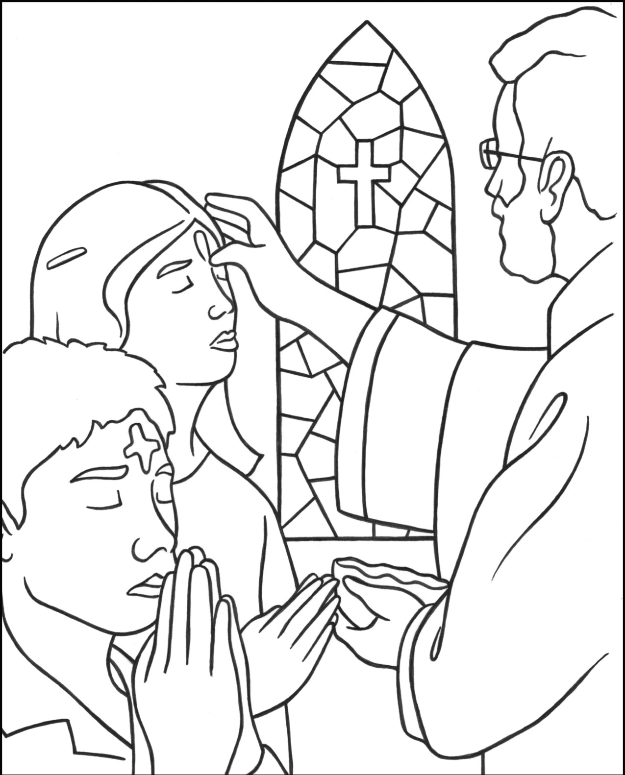 ash wednesday coloring pages ash wednesday coloring pages best coloring pages for kids pages wednesday ash coloring