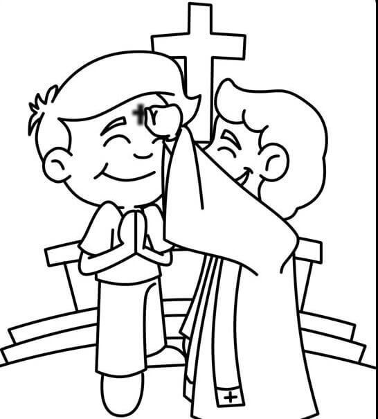 ash wednesday coloring pages lent ash wednesday coloring page catholic coloring pages ash wednesday coloring