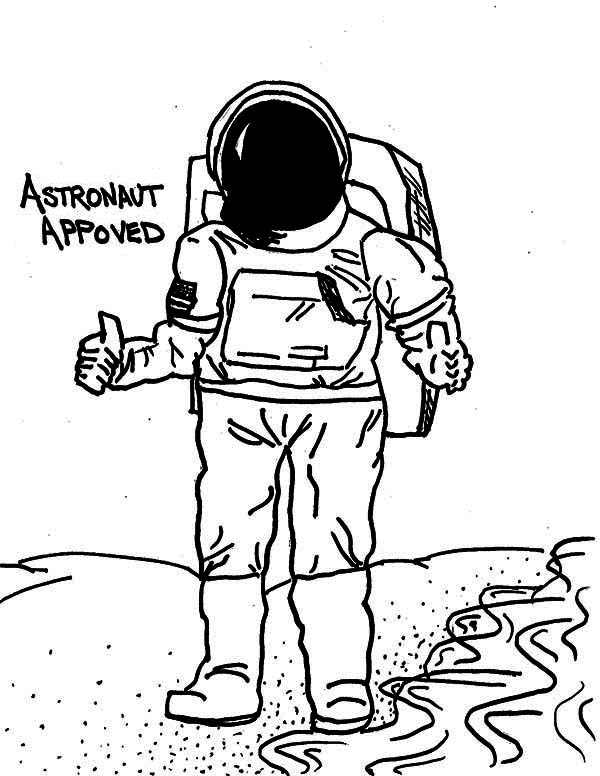 astronaut body coloring page a drawing of an astronaut in the moon surface coloring body astronaut page coloring