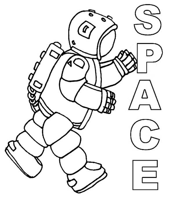 astronaut body coloring page an astronaut in complete spacesuit coloring page body page coloring astronaut