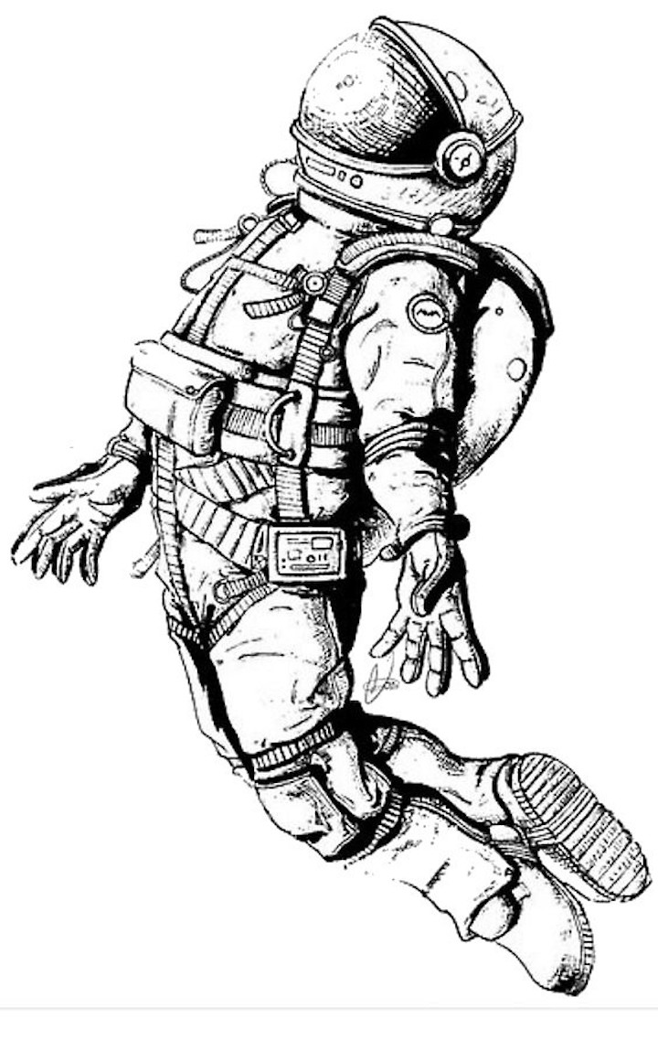 astronaut body coloring page astronaut clipart coloring pages and more free printable coloring astronaut page body