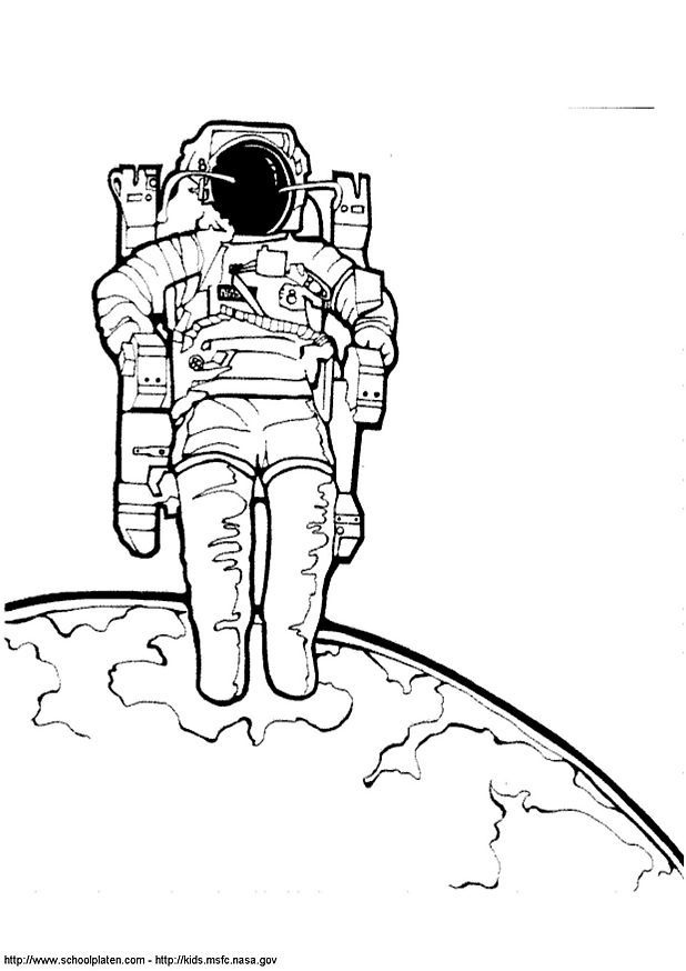 astronaut body coloring page astronaut drawing google search astronaut pinterest coloring astronaut body page
